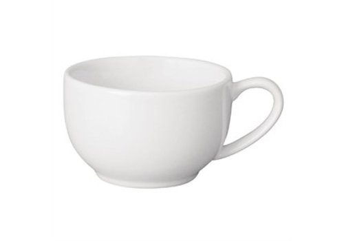 Olympia Weißes Porzellan Kaffeetassen (12 Stück)