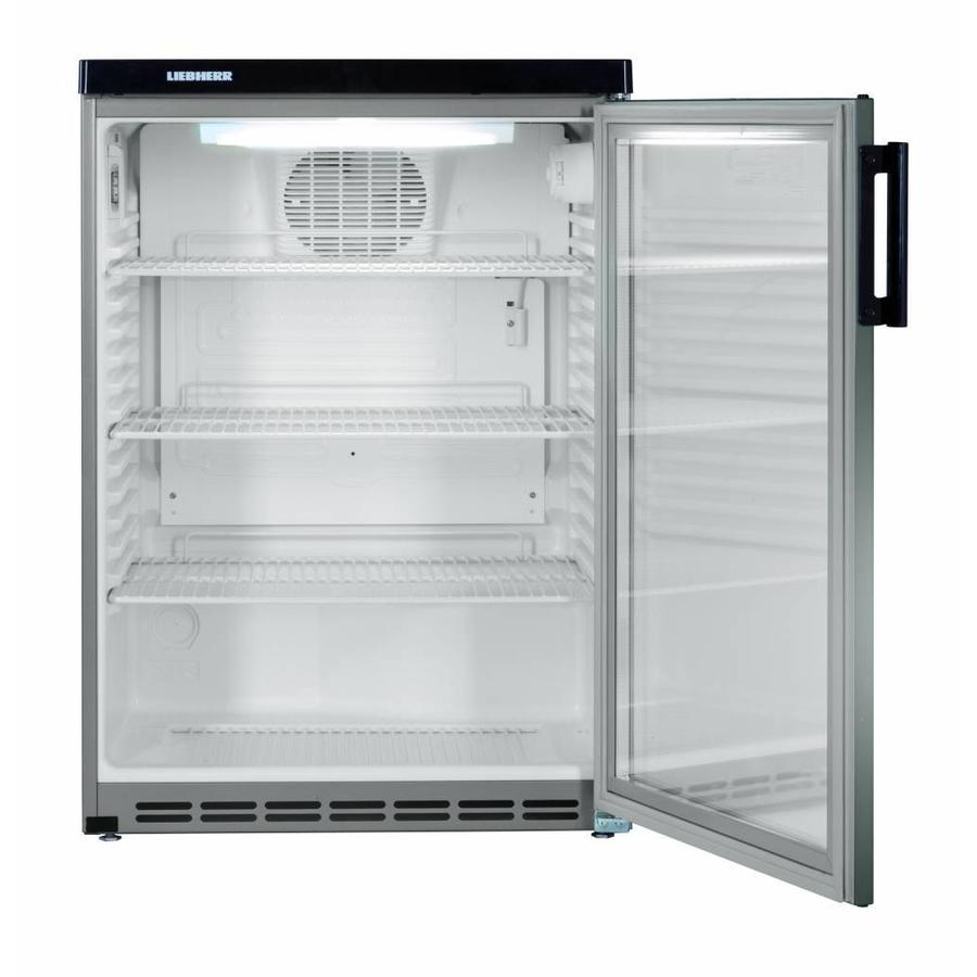 Liebherr Fkvesf1803 | Edelstahl-Kühlschrank mit Glaskonstruktion 180 ...