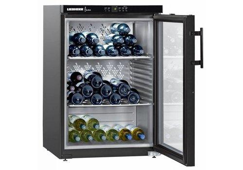 Liebherr WKb1812 | Wine Cooler Black 66 Bottles | Liebherr