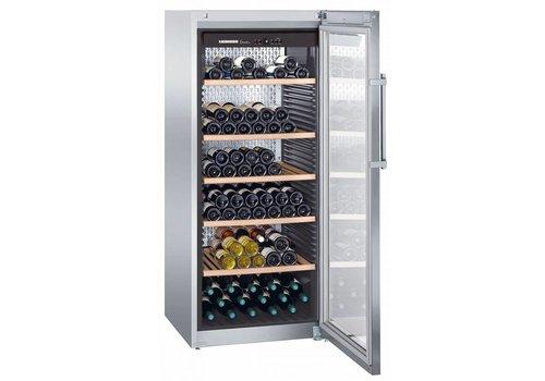 Liebherr WKes4552   Wine Climber Stainless Steel 201 Bottles   Liebherr