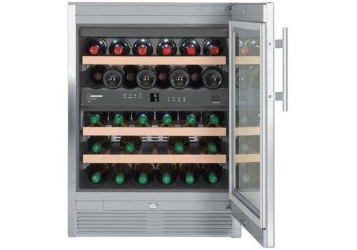 Liebherr WTes1672-20   Wine Climber Stainless Steel 34 Bottles   Liebherr
