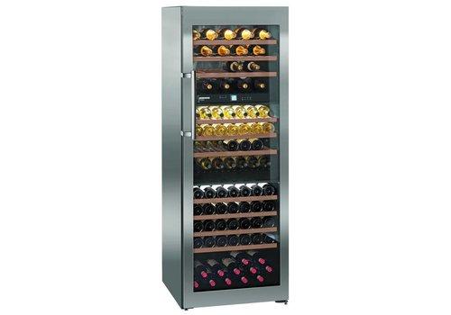 Liebherr WTes5872-20   Wine Closet Stainless Steel 178 Bottles   Liebherr