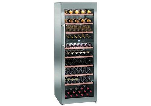 Liebherr WTes5972   Wine Closet Stainless Steel 211 Bottles   Liebherr