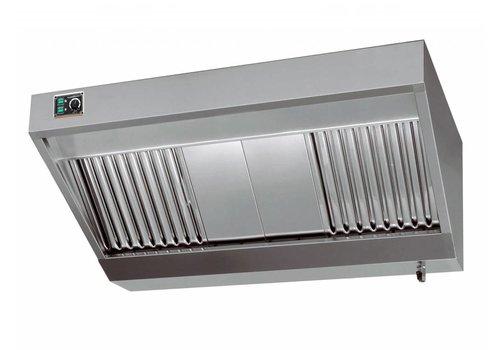 Combisteel Professionele Afzuiger met Motor RVS |280x110x45cm