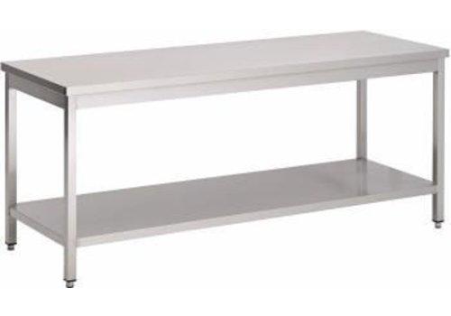 Saro Stainless Werkbank | 180 x 70 x 85 x cm