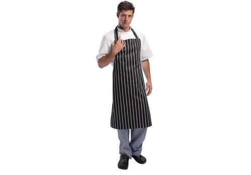 Chef Works Keukenschorten Zwart/Wit Professioneel Series