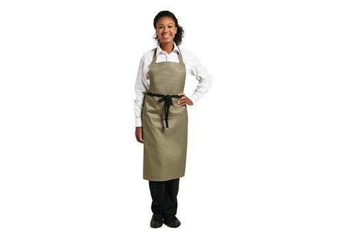 Chef Works Schort Olijf