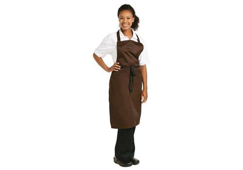 Chef Works Schort Chocolade