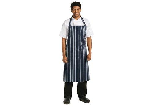 Chef Works Keukenschorten Navy Blauw (EXTRA LANG)