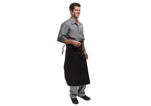 Chef Works Zwarte Chef Sloof - DE MAESTRO