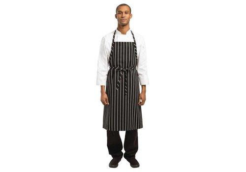 Chef Works Schorten Horeca Zwart/Wit