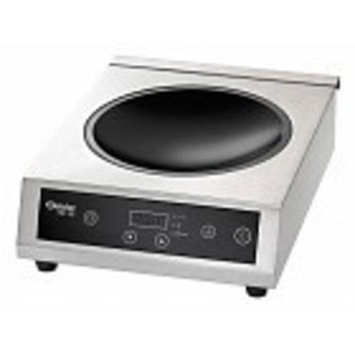 Inductie wok kookplaat