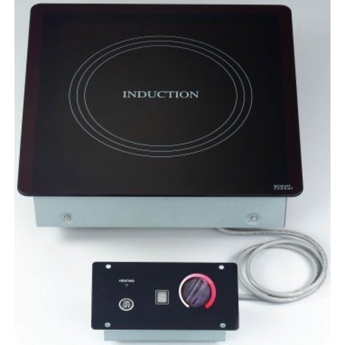 Built-in induction cooking plates