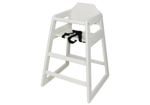 Bolero High chair antique white
