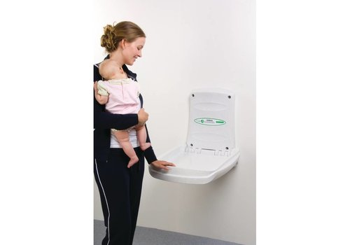 HorecaTraders Baby changing table White