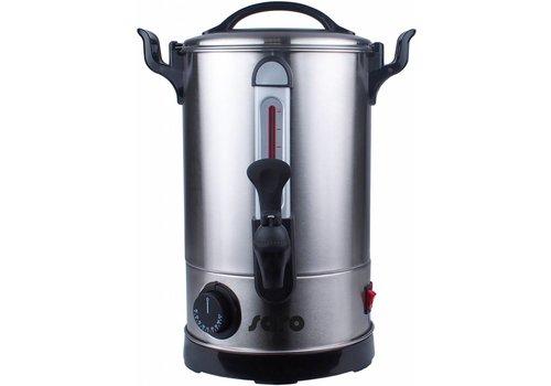 HorecaTraders Kessel Glühwein und Heißwasserspender - 2 Größen