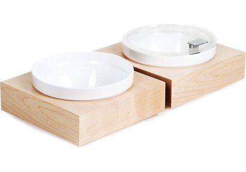 APS Includes buffet Plate White Bowl and lid | 26,5x26,5x (H) 8.5 cm