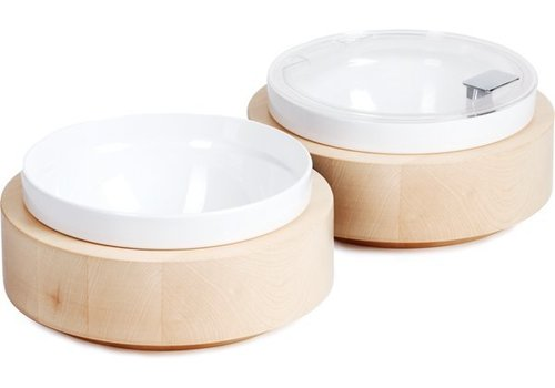 APS Includes buffet Plate White Bowl and lid | Ø26,5cm