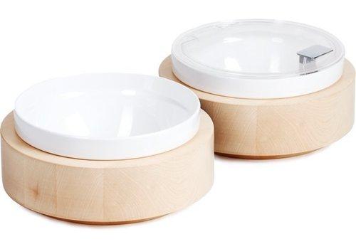 APS Inklusive Früh Platte Weiße Schüssel und Deckel | Ø26,5cm