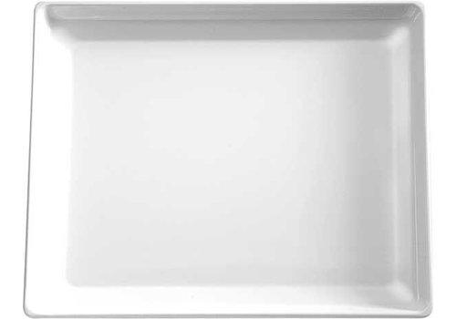 APS Witte Melamine Schaal | 32,5x26,5cm