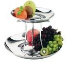 APS Luxus-Edelstahl-Frucht-Etagere | 2 Stockwerke