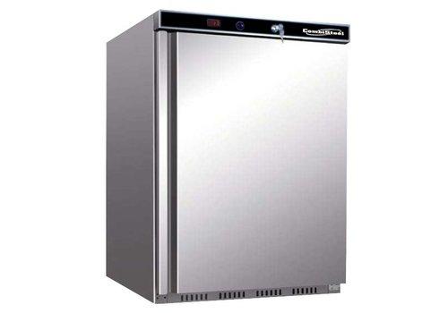 Combisteel Edelstahl Mini Kühlschrank   130 Liter