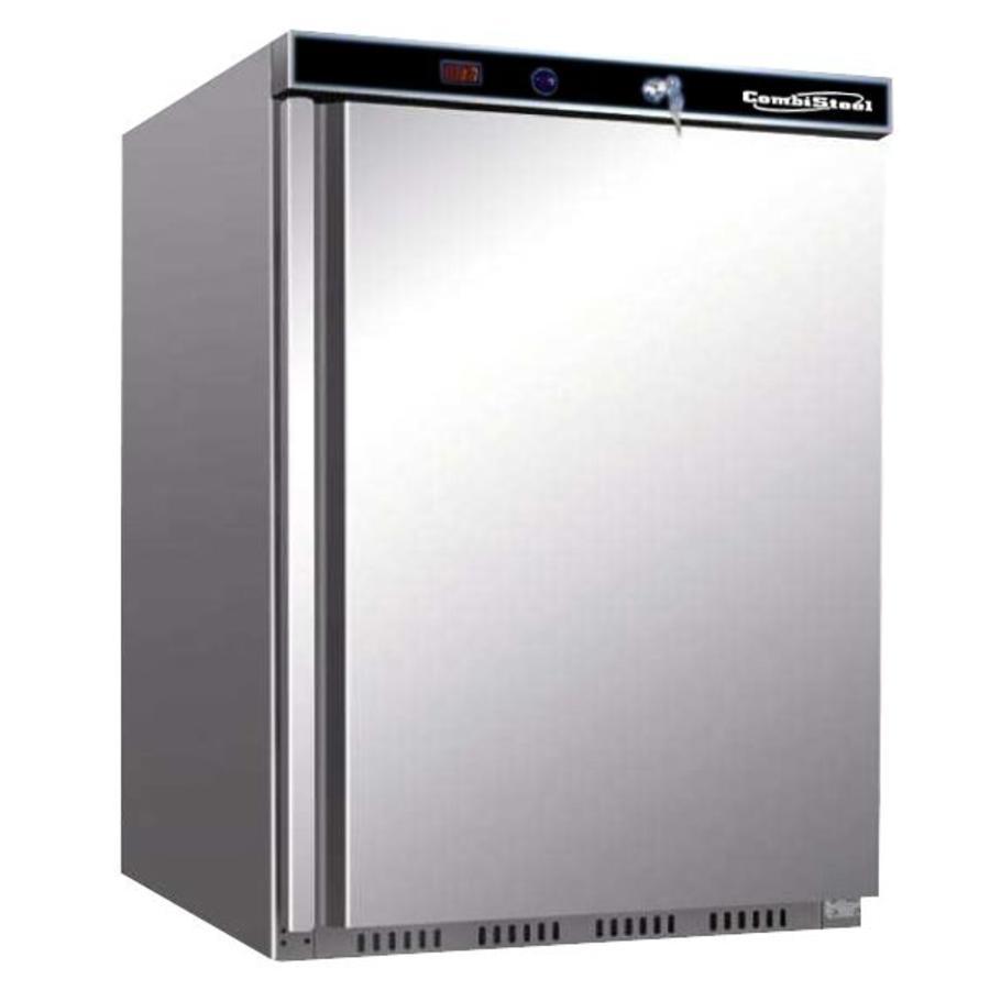 Edelstahl Mini Kühlschrank   130 Liter - Schnell und einfach online ...