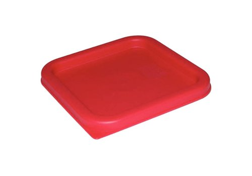Olympia Red Square Lid | 3 formats