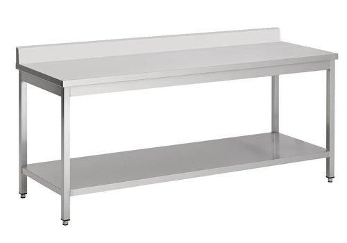 Combisteel Werktafel RVS Demontabel (D)70cm | 7 Formaten