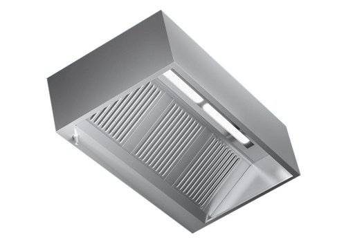 Combisteel Saug Edelstahl Professional | 200x110x45cm