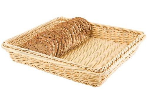 APS Bread basket light brown for buffet 6 formats