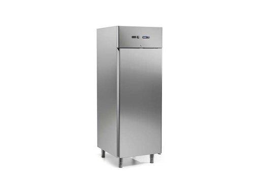 Afinox Koelkast Geforceerd | RVS 700 Liter | 73x80x209 cm - Premium Kwaliteit