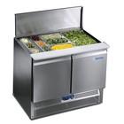 Afinox Saladette 2-door workbench | Premium Quality