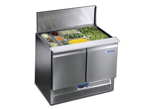 Afinox Saladette Werkbank met 2 deuren |Premium Kwaliteit