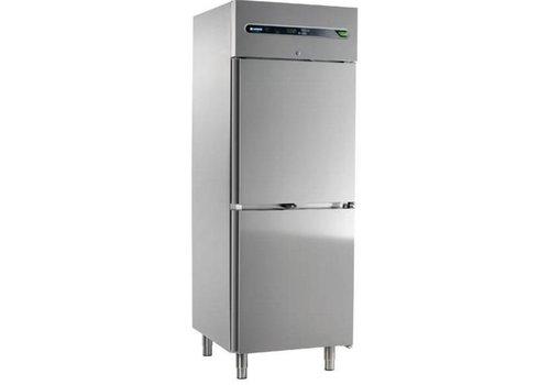 Afinox Refrigerator double door Stainless steel | 700 liters 73x54x209cm