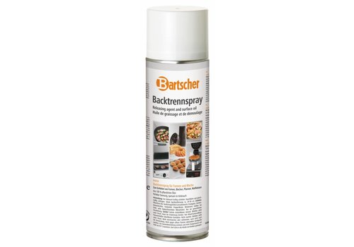 Bartscher Anti-aanbakspray voor bakvormen en bakplaten