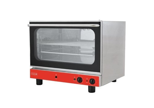 Gastro-M Convection oven with humidifier | 4x 60x40cm grids 230