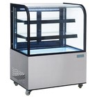 Polar Cooled glass window with curved glass 270 liters