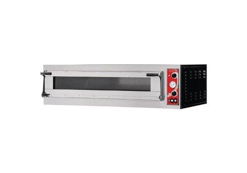 Gastro-M Pizza-Ofen 1 Zimmer 2200 Watt | 3 Pizzen