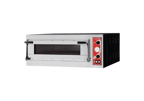 Gastro-M SS Pizza-Ofen 1 Ofen Raum 3000 Watt | 4 Pizzen