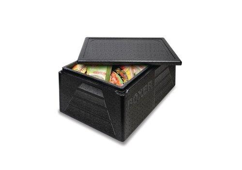HorecaTraders Thermobox Polypropyleen | Zwart