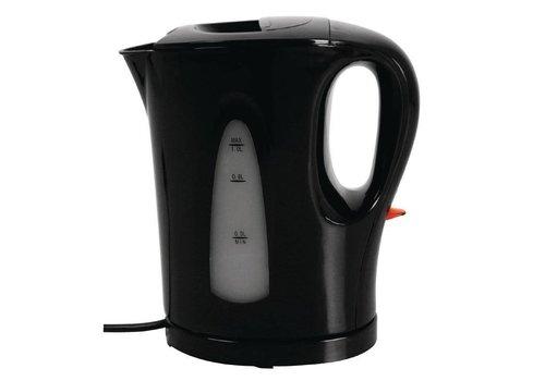 Caterlite Hotel room kettle 1 liter black