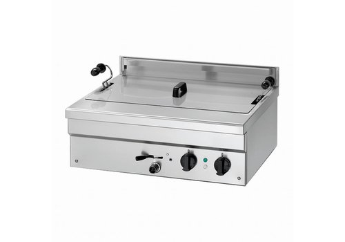 HorecaTraders Gas fryer for donuts and fish 18 liters