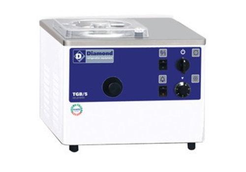Diamond IJsmachine met watercondensator 5 liter per uur