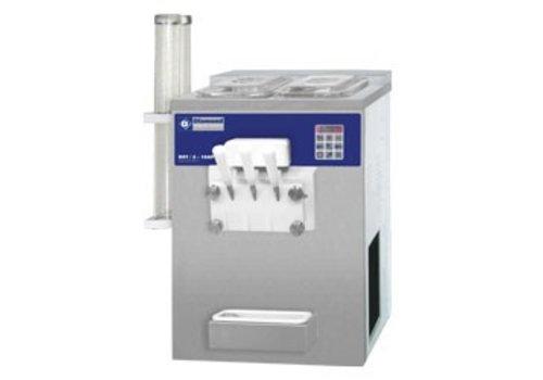 Diamond Softijsmachine met 2 smaken 23 kg per uur
