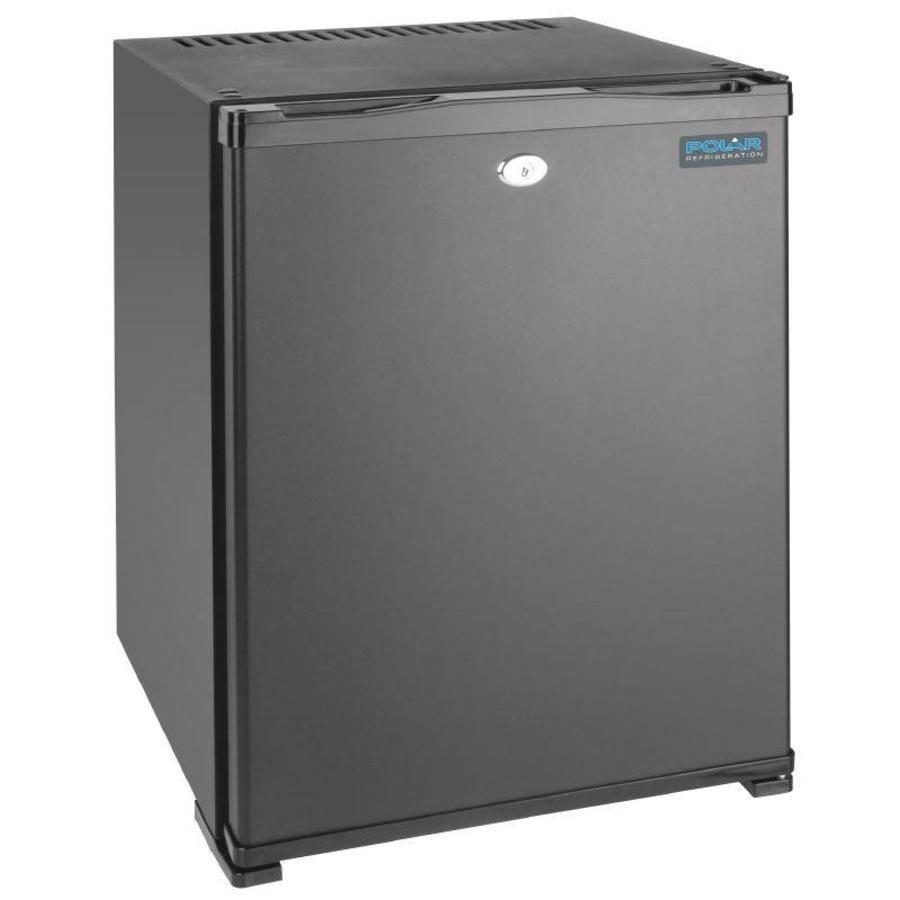 Mini koelkast met slot 30 liter   Staal - BEST VERKOCHT