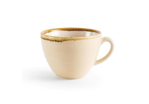 Olympia Zandsteen porselein cappuccinokopjes 23cl (6 stuks)