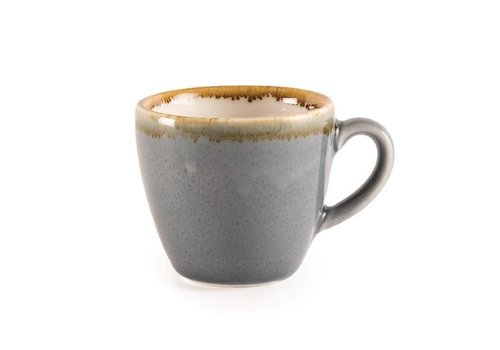 Olympia Blauwe porselein espressokopjes 8,5cl (6 stuks)