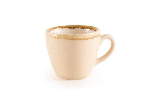 Olympia Zandsteen porselein espressokopjes 8,5cl (6 stuks)