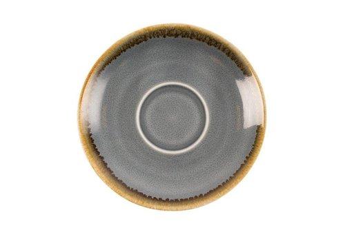 Olympia Blauwe porselein espressoschotels | 11,5cm (6 stuks)